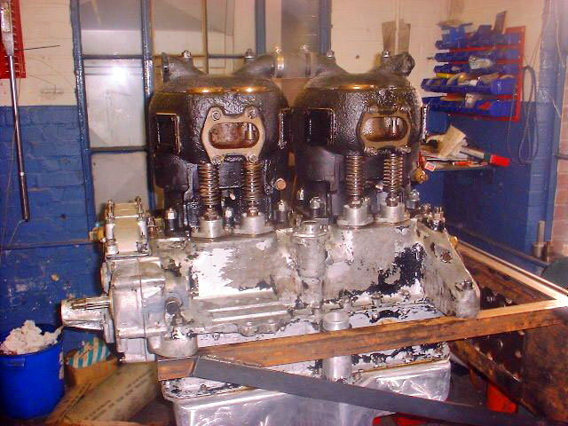 This is a 1935 Dennis Engine we rebuilt. Many of the parts we had to manufacture on completion the engine was bench tested.