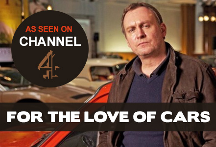 As seen on Channel 4 - For The Love of Cars